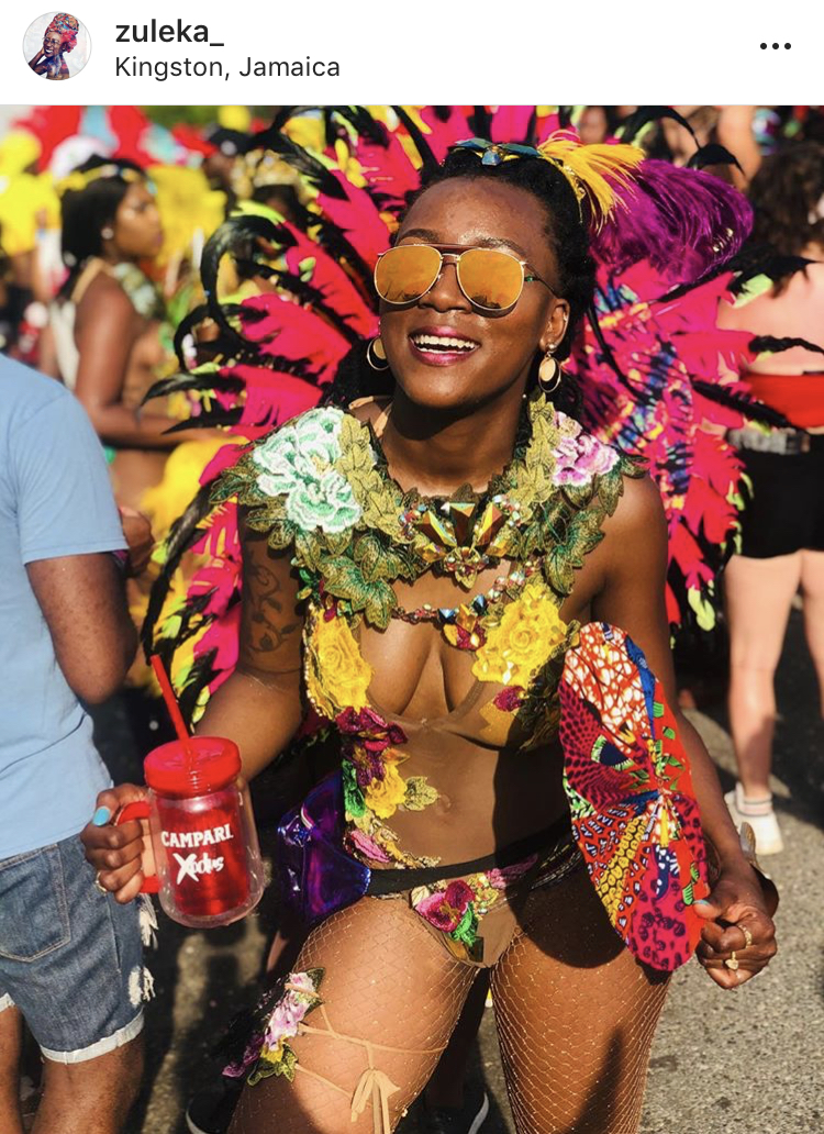 Caribbean festival fashion