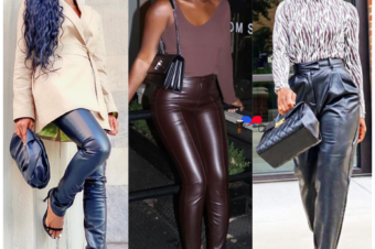 The Liberian It-Girls' Style Guide to Rocking Leather